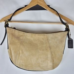 Coach Vintage Suede Mini Purse AS IS